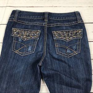 Women's INC Denim Size 6 Boot Leg Reg Fit Jeans